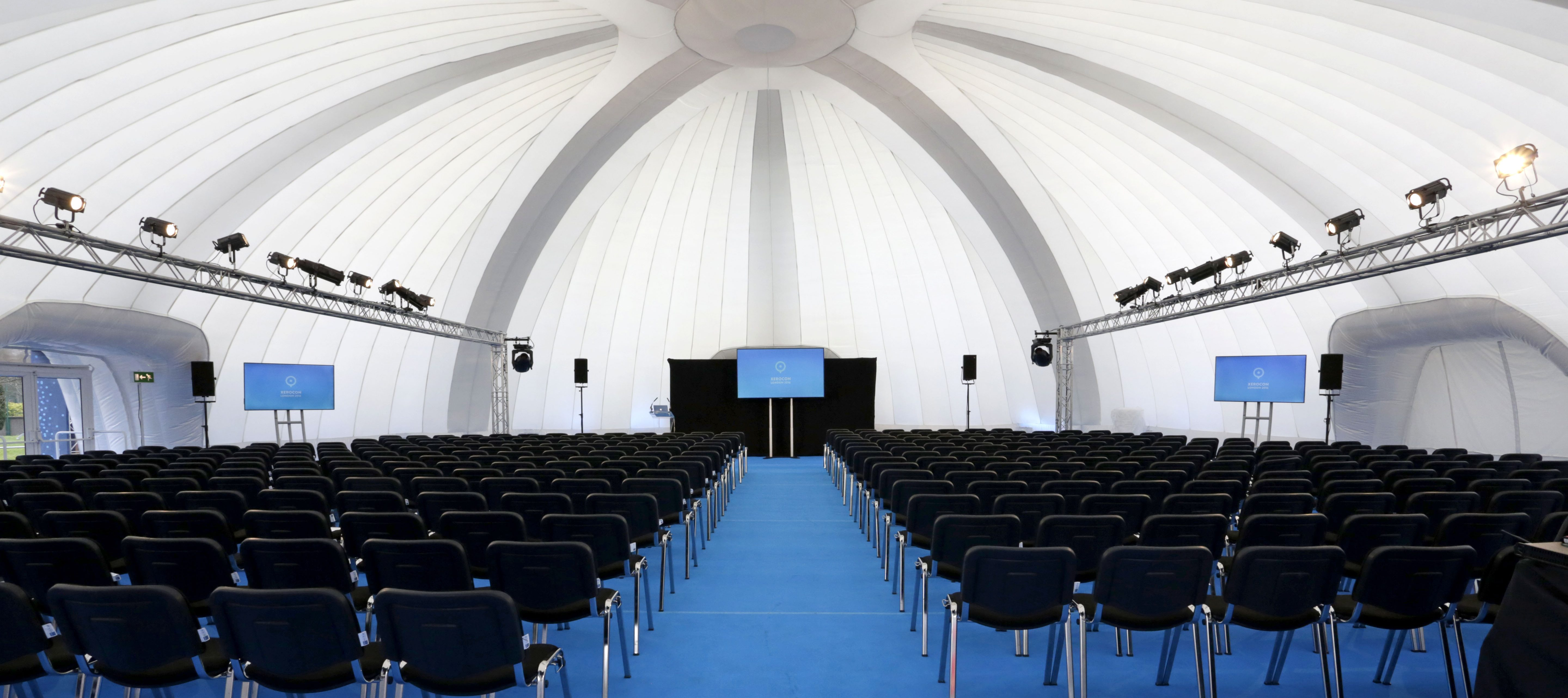 Inflatable Conference Structures | Evolution Dome