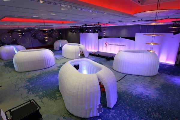 Inflatable Break Out Rooms - Inflatable Structure Hire