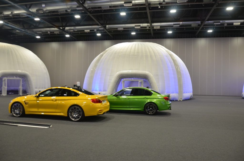 Bmw Case Study Evolution Dome Temporary Inflatable Event Structures