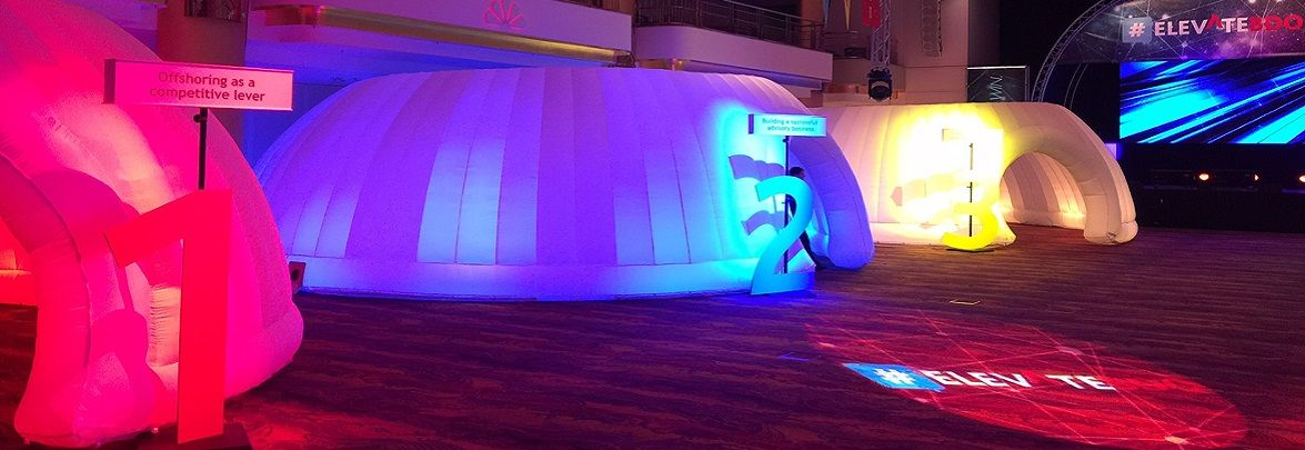 Inflatable Meeting Rooms